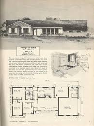 ranch house floor plans 1950s house floor plans lovely vintage house plans mid century homes