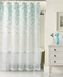 Vinyl Shower Curtains Beautiful Vinyl Shower Curtains Sets For Bathroom With Blue And