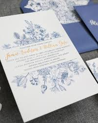 wedding invitations blue chinoiserie inspired blue and white wedding invitations