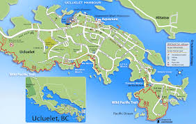 Map Of Pacific Ucluelet Bc Background Information
