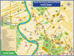 Map Rome Tutku Tours Faculty Led Cross Cultural Tour To Italy