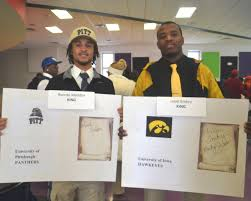 College National Letter Of Intent Psl S Class Of 2014 Celebrates 21 Scholarship Recipients On
