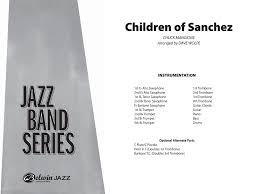 children of sanchez arr dave wolpe j w pepper sheet music