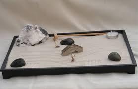 Desk Rock Garden Executive Desktop Meditation Zen Garden 14 5 X 10 5 X 1 0