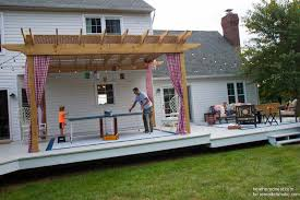 how to build your home remodelaholic diy pergola tutorial how to build your own