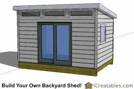 Diy 10x12 Storage Shed Plans by Modern Shed Plans Modern Diy Office U0026 Studio Shed Designs
