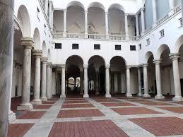 il cortile genova palais ducal de g礫nes
