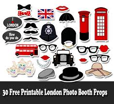 picture props free printable london photo booth props jpg