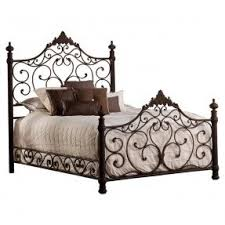 Wrought Iron Canopy Bed Metal Headboards Queen Size Foter