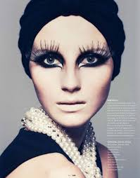 m magazine make up fantasy makeup