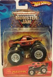 toy monster trucks racing amazon com 2005 wheels monster jam el matador 13 monster