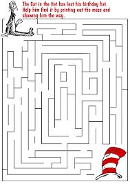 dr seuss maze dr seuss maze dr seuss activities