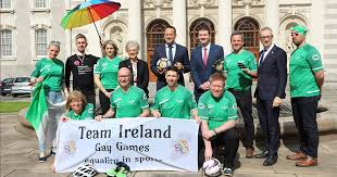 katherine ireland taoiseach rows in behind team ireland for gay games gcn gay