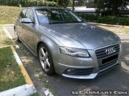 audi a4 singapore used audi a4 car for sale in singapore the car regency pte ltd