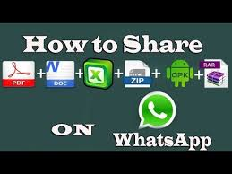 watsapp apk file how to pdf doc excel apk rar and zip files on whatsapp