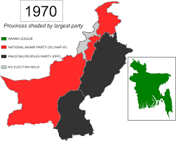 2016 Electoral Map Pre by Pakistani General Election 1970 Wikipedia