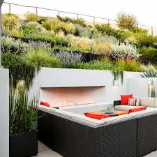 a hillside garden u0027s ingenious design sunset