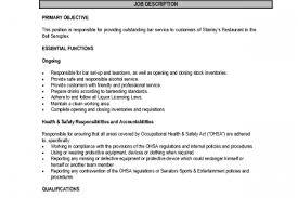 Lifeguard Job Duties For Resume by Lifeguard Job Description Resume Reentrycorps