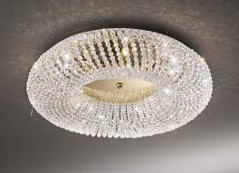 3 Light Ceiling Fixture Kolarz Carla Gold 3 Light Flush Ceiling Light 0256 13l 3