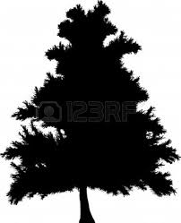 pine trees silhouette free download clip art free clip art