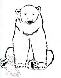 polar bear ink design by silverheartx on deviantart