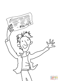 charlie bucket coloring page free printable coloring pages