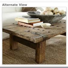 barn door side table pottery barn rustic door coffee table love for the home