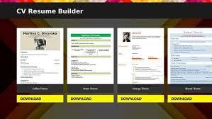 Resume Apps Resume Builder App Resume Builder Pro 5 Minutes Cv Maker