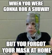 Subway Meme - subway robber imgflip