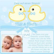 sprüche danksagung geburt dankeskarten zur geburt babykarten geburtsanzeigen zwillinge