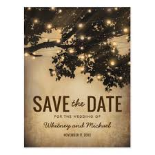 Rustic Save The Date Cards Best Rustic Vintage Save The Dates Products On Wanelo