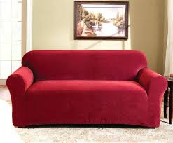 red slipcovers for sofas medium size of extra long sofa cover