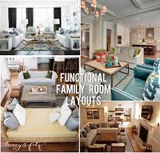 Family Room Furniture Layouts - Family room layout