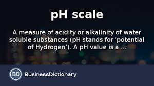 what is a ph scale definition and meaning businessdictionary
