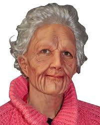 halloween city masks buy new old lady mask caufields com