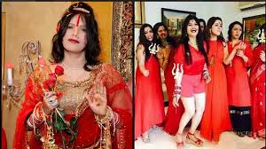 themes for kitty parties in india radhe maa a new theme for kitty parties
