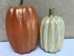 Paper Mache Pumpkin Paper Mache Pumpkins For Fall Decor P S I Love You Crafts