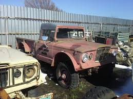 old military jeep truck 1967 m715 kaiser jeep vin17011