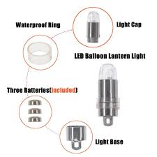 halloween led balloons amazon com sumdirect pack of 24 multicolor led submersible