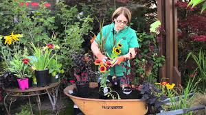 garden tips how to plant flowers in a wheelbarrow u0026 other