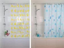 Transparent Shower Curtain Duck Shower Curtain Ebay