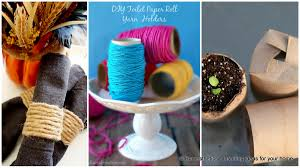toilet paper roll crafts to keep your home organized