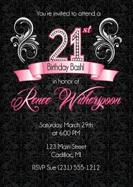 21st invitation templates free contegri com