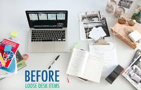 Organizing Work Desk Work Desk Organization Ideas Organize Your Desk The Chic