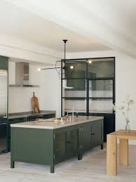 green kitchen islands 30 green kitchen decor ideas that inspire digsdigs