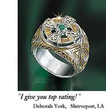 mens celtic rings men s celtic cross ring the power of the emerald isle celt flickr