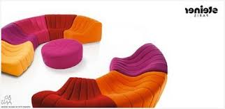 univers du canapé canapé en cuir contemporain roche bobois comme référence