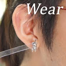 one ear earring shinjuku gin no kura rakuten global market pierced earrings for