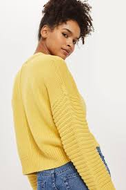 yellow sweater yellow sweaters knits clothing topshop
