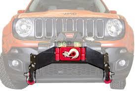 jeep winch bumper front winch bumper winch mount jeep renegade jeepmania